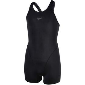 speedo Essential Endurance+ Strój pływacki Dziewczynki, black/oxid grey